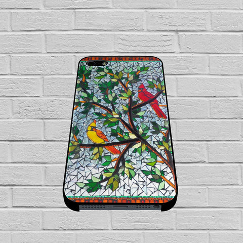 Birds in Tree Mozaic case of iPhone case,Samsung Galaxy