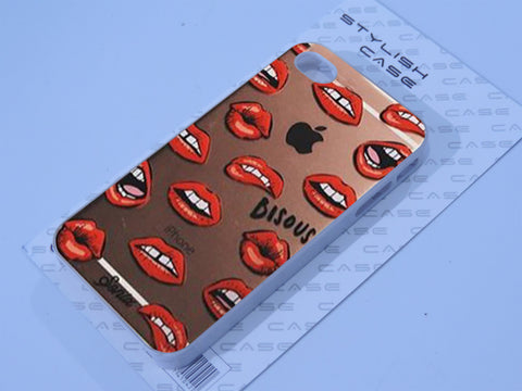 Bisous case Lips Phone case iPhone case Samsung Galaxy Case