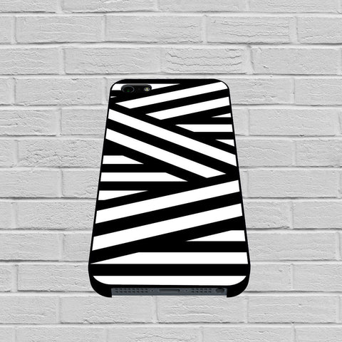 Black and White Zig Zag Stripes case of iPhone case,Samsung Galaxy