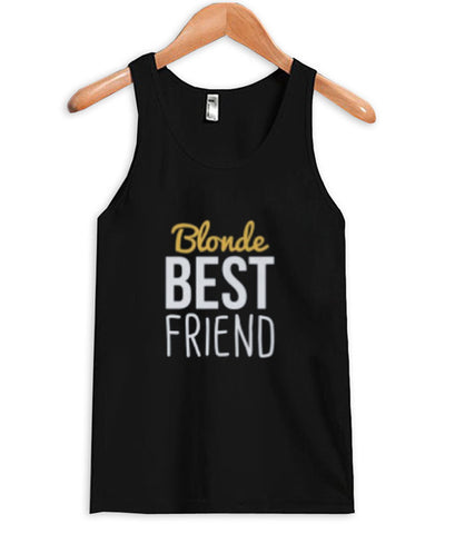 Blonde Best Friends tanktop