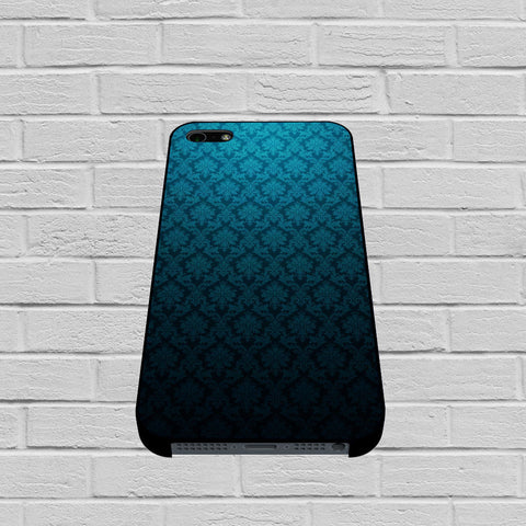 Blue Damask case of iPhone case,Samsung Galaxy