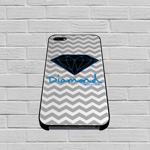 Blue Diamond Chevron case of iPhone case,Samsung Galaxy