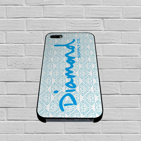 Blue Diamond Supply Co Pattern case of iPhone case,Samsung Galaxy