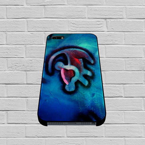 Blue Lion King Drawing case of iPhone case,Samsung Galaxy