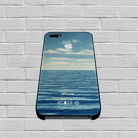 Blue Ocean Beach Bokeh Silicone Photograph Spring Summer Vintage case of iPhone case,Samsung Galaxy