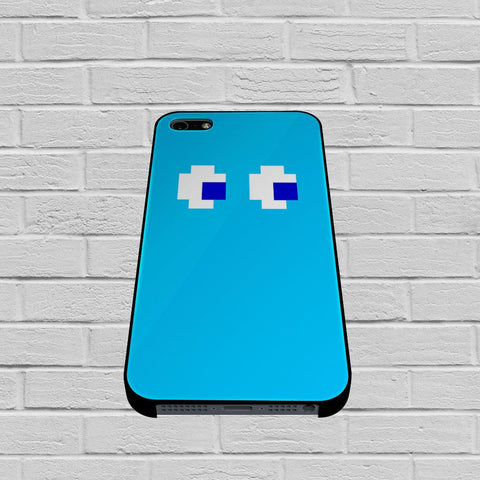 Blue Pacman inspired case of iPhone case,Samsung Galaxy