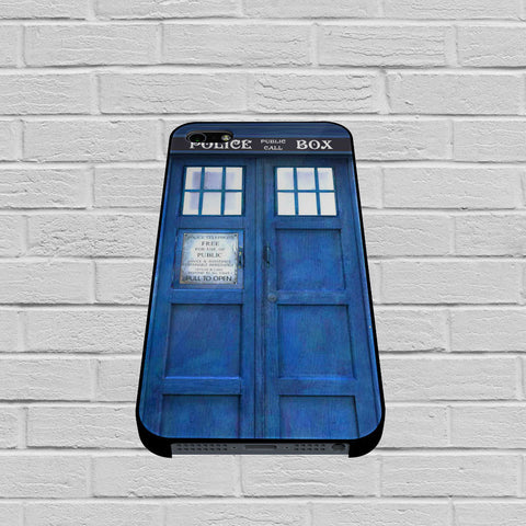 Blue Police Call Box Tardis case of iPhone case,Samsung Galaxy