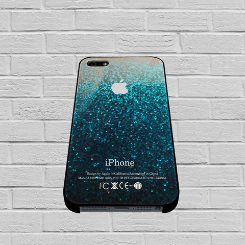 Blue Water Glitter case of iPhone case,Samsung Galaxy