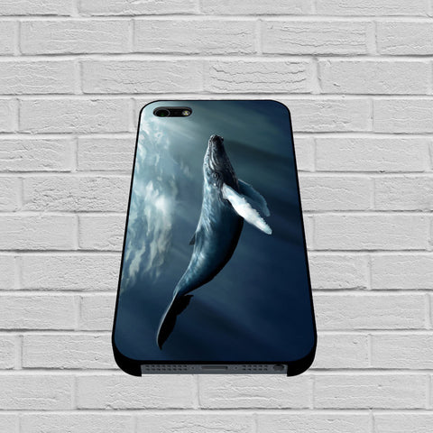 Blue Whale Art case of iPhone case,Samsung Galaxy