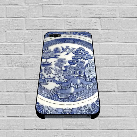 Blue Willow China Pattern case of iPhone case,Samsung Galaxy