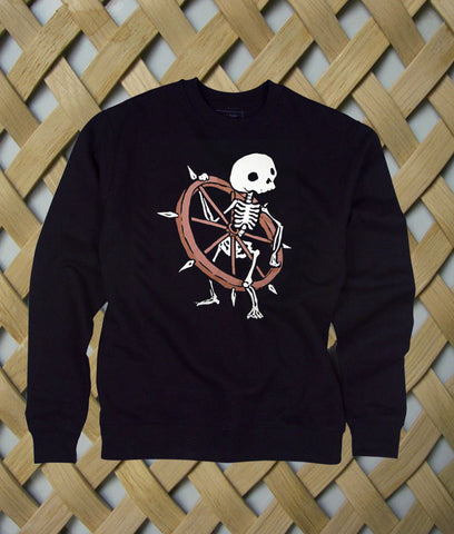 Bone Wheel Skeleton sweatshirt