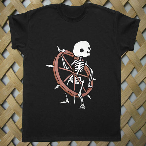 Bone Wheel Skeleton T shirt