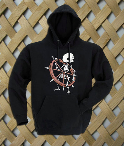 Bone Wheel Skeleton Hoodie