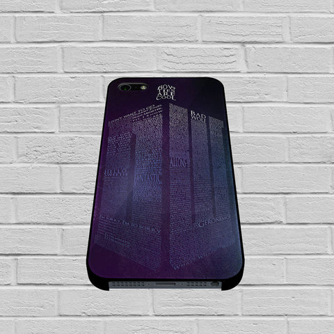 Bow Ties Are Cool Tardis case of iPhone case,Samsung Galaxy