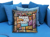 Breaking Bad Grand Theft GTA Pillow case