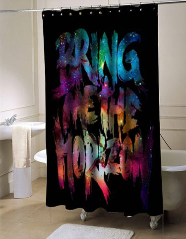 Bring me to horizon shower curtain customized design for home decor