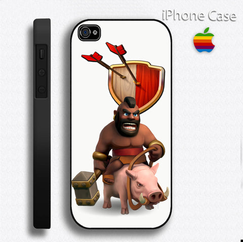 CLASH OF CLANS HOG RIDER game Phone case iPhone case Samsung Galaxy Case