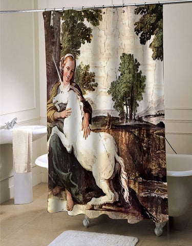 CafePress Annibale Carracci Virgin and Unicorn
