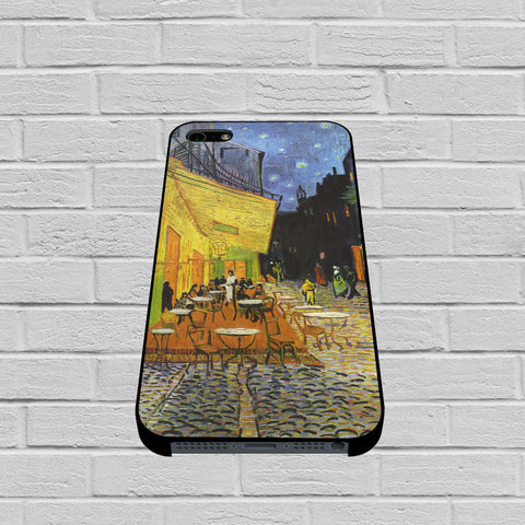 Cafe Terrace case of iPhone case,Samsung Galaxy