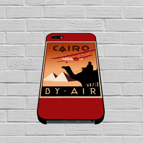 Cairo Egypt Vintage Travel Poster case of iPhone case,Samsung Galaxy