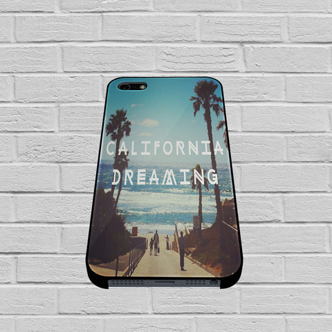 California Dreaming case of iPhone case,Samsung Galaxy