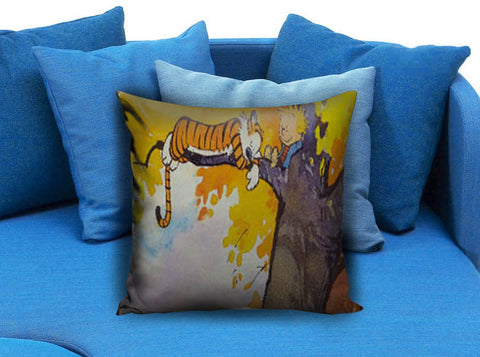 Calvin and hobbes Sleeping Pillow case