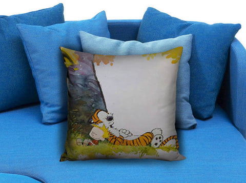 Calvin and hobbes Pillow case