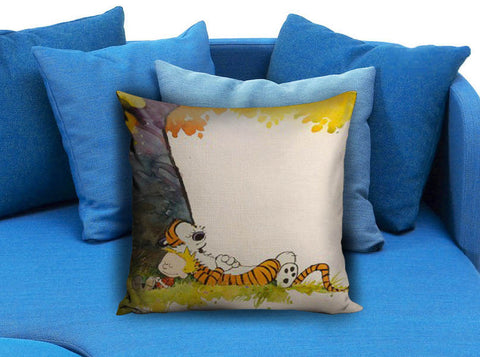 Calvin and Hobbes Sleep Square Pillow case