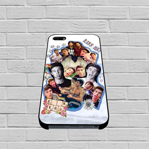 Cameron Dallas Collage case of iPhone case,Samsung Galaxy