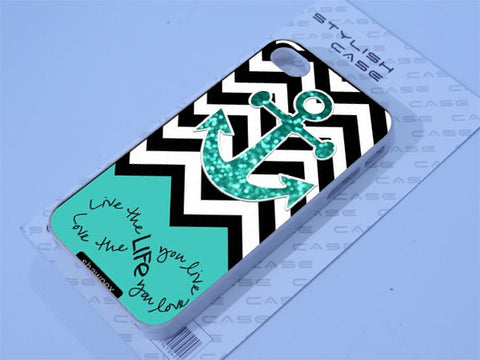 Chevron Anchor Infinity Phone case iPhone case Samsung Galaxy Case