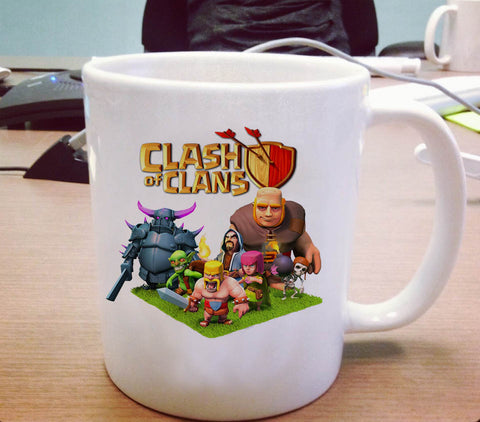 Clash of Clans coc Ceramic Mug