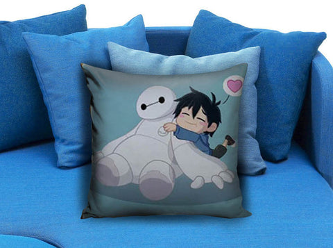 Cute Big Hero Pillow case