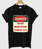 Danger crazy hollywood undead fan T shirt