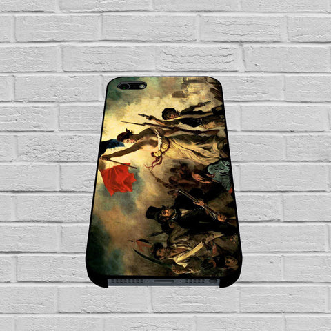 Delacroix - Liberty Leading the People case of iPhone case,Samsung Galaxy