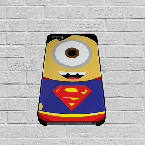 Despicable Me Minion Superman case iPhone case,Samsung Galaxy
