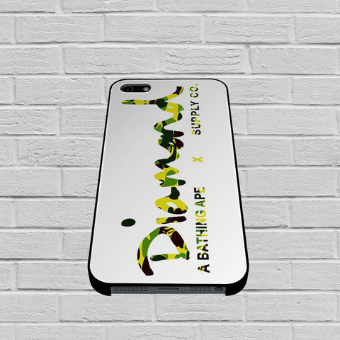 Diamond Supply Co Bathing Ape Yellow case of iPhone case,Samsung Galaxy