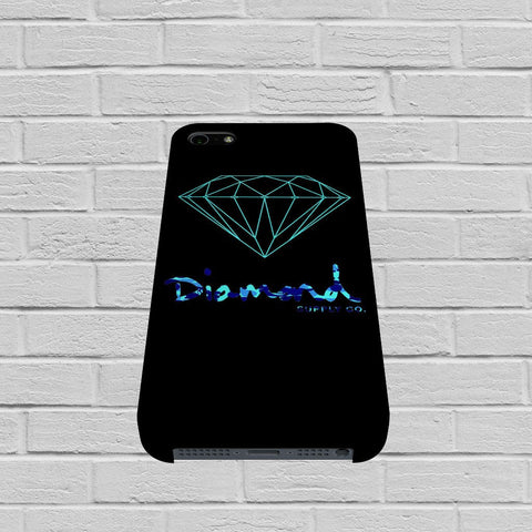 Diamond Supply Co Blue case of iPhone case,Samsung Galaxy