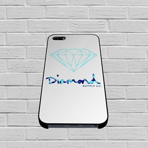 Diamond Supply Co Blue new case of iPhone case,Samsung Galaxy