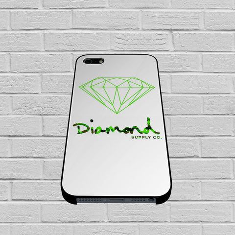 Diamond Supply Co Green case of iPhone case,Samsung Galaxy