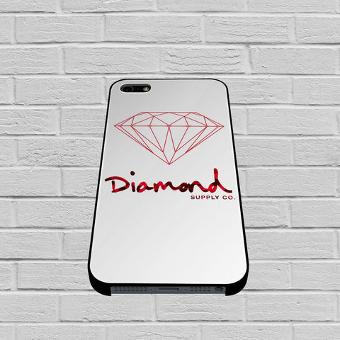 Diamond Supply Co Red case of iPhone case,Samsung Galaxy