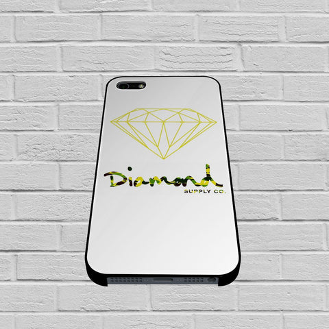 Diamond Supply Co Yellow case of iPhone case,Samsung Galaxy