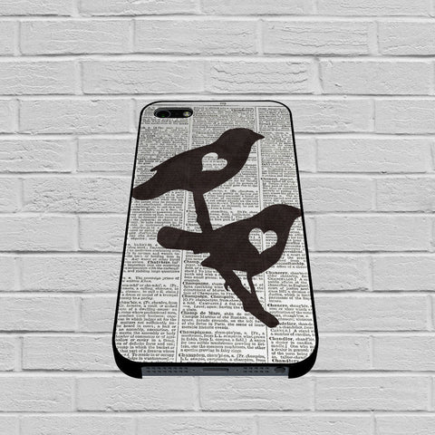 Dictionary Bird Love case iPhone case,Samsung Galaxy