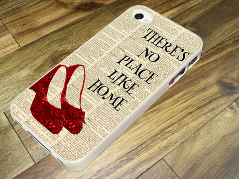 Dictionary Style wizard of oz there is no place like home Phone case iPhone case Samsung Galaxy Case