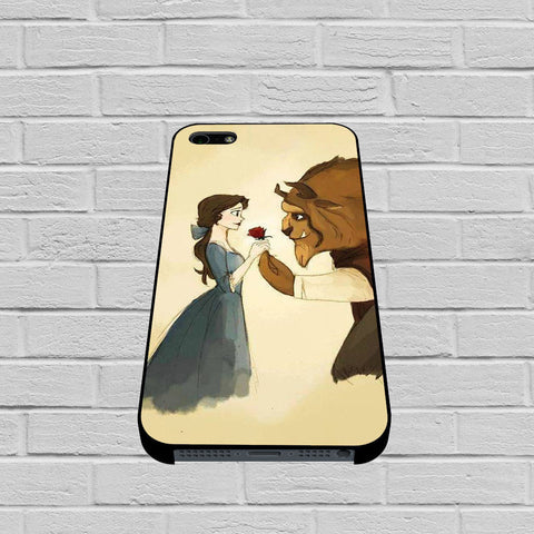Disney Beauty and The Beast Art case of iPhone case,Samsung Galaxy