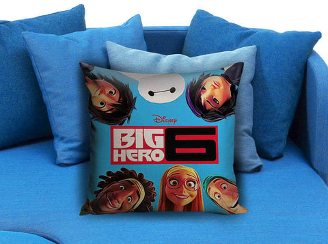 Disney Big Hero 6 movie cover Pillow Case