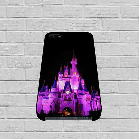 Disney Castle Holiday Night Lights case of iPhone case,Samsung Galaxy
