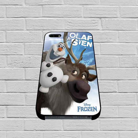 Disney Frozen Olaf And Sven case of iPhone case,Samsung Galaxy
