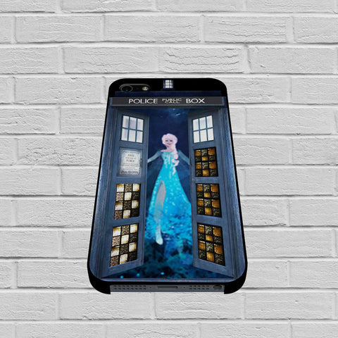 Disney Frozen Tardis case of iPhone case,Samsung Galaxy