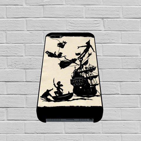 Disney Peter Pan Black and White Pattern case of iPhone case,Samsung Galaxy