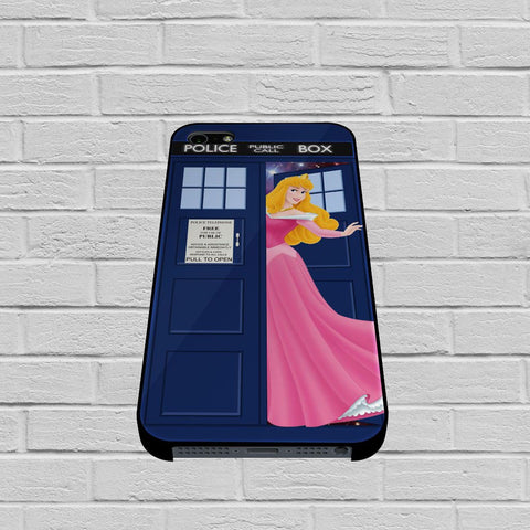 Disney Princess Aurora Tardis Police Box case of iPhone case,Samsung Galaxy